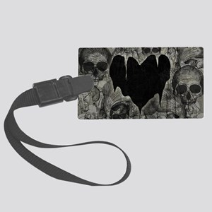 bleak-heart_12x18 Large Luggage Tag