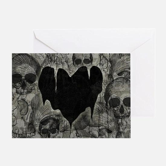 bleak-heart_12x18 Greeting Card