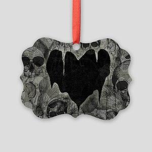 bleak-heart_12x18 Picture Ornament