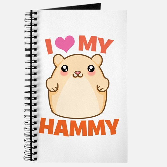 I Love My Hammy Journal