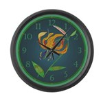 Lily Large Wall Clock