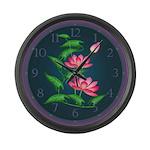 Lotus Large Wall Clock