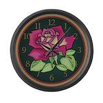 English Rose Large Wall Clock
