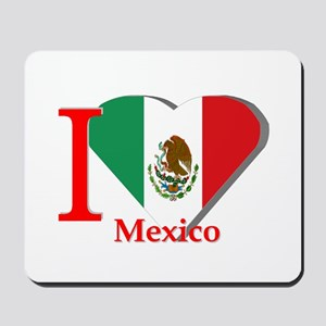 I love Mexico Mousepad