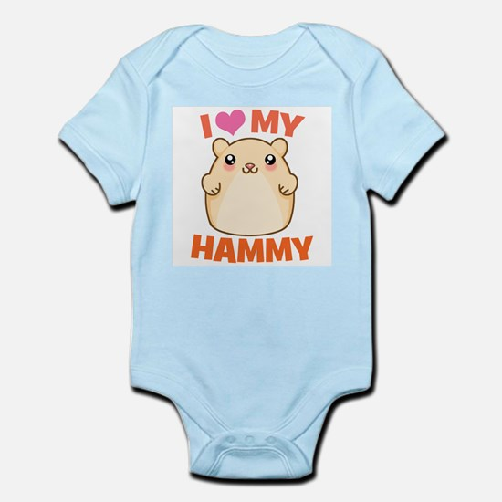I Love My Hammy Infant Bodysuit