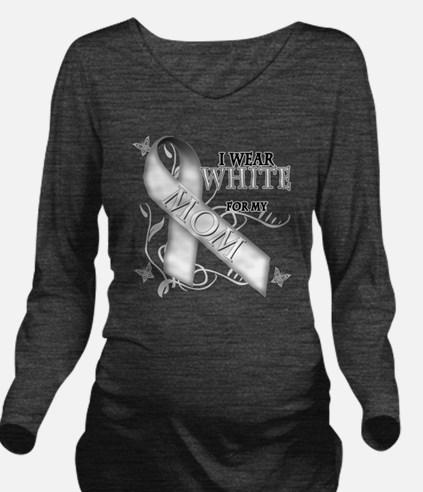 I Wear White for my  Long Sleeve Maternity T-Shirt