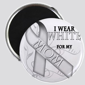 I Wear White for my Mom Magnet