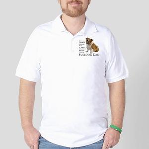 Bulldog Dad Golf Shirt