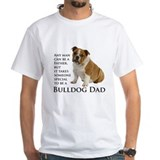 English bulldogs Mens Classic White T-Shirts