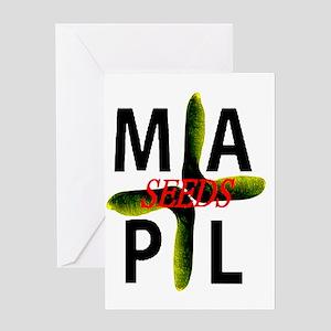 maplseeds Greeting Card