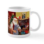 Santa's Scottish Deerhound Mug