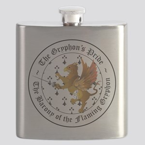 Rapier Gryphons Pride Flask