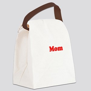 approvemom white Canvas Lunch Bag