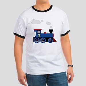 train age 5 blue black Ringer T