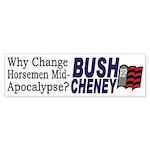Why Change Horsemen? (sticker)