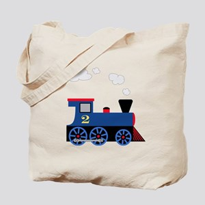 train age 2 blue black Tote Bag