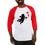 Cupid Love Hearts Baseball Jersey for Valentine's