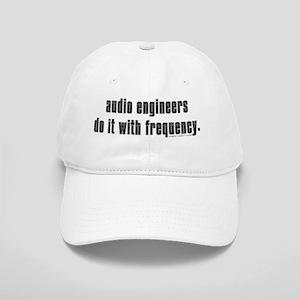 audio eng impossible font shirt Cap