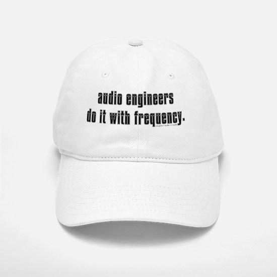 audio eng impossible font shirt Baseball Baseball Cap