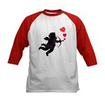 Valentine's Day Cupid Kids Baseball Jersey