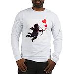 Cupid Love Hearts Long Sleeve T-Shirt Valentine's