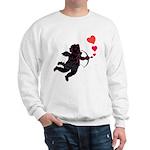 Cupid Love Hearts Sweatshirt Valentine's Day