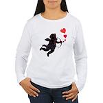 Cupid Love Valentines Women's Long Sleeve T-Shirt