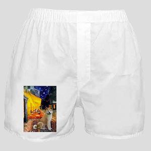 5.5x7.5-Cafe-Akita2 Boxer Shorts