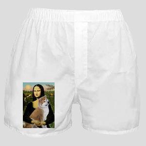 5.5x7.5-Mona-Akita3 Boxer Shorts
