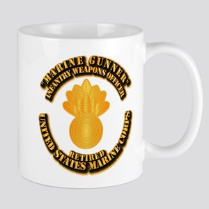 USMC - Marine Gunner - Retired Mug