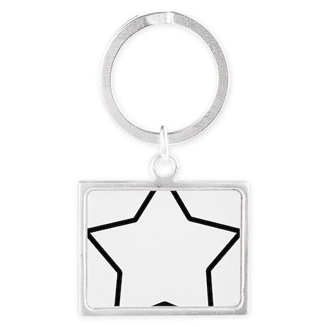 star-shrock Landscape Keychain