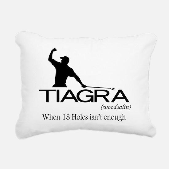 2-Tiagra Rectangular Canvas Pillow