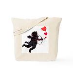 Cupid Love Hearts Tote Bag Valentine's Day