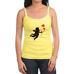 Valentines Shirt Jr. Spaghetti Tank Cupid Love