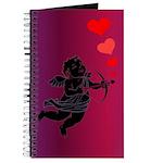Cupid Love Hearts Journal Valentine's Day