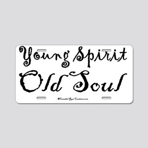 spiritsoul_sq Aluminum License Plate