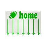 Home is a Football Field Magnets