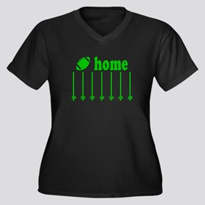 Home is a Football Field Plus Size T-Shirt