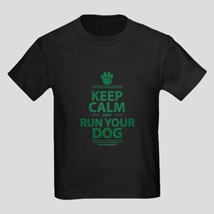 Keep Calm Kids Dark T-Shirt