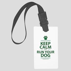 Keep Calm Large Luggage Tag