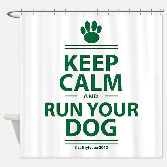 Keep Calm Shower Curtain