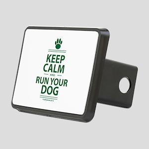 Keep Calm Rectangular Hitch Cover