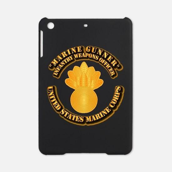 USMC - Marine Gunner iPad Mini Case