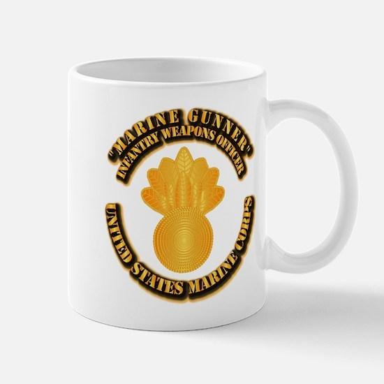 USMC - Marine Gunner Mug