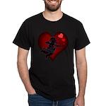 Valentine's Dark T-Shirt Cupid Valentine's Gifts