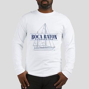 Boca Raton - Long Sleeve T-Shirt