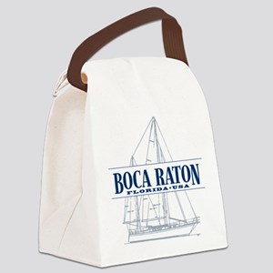 Boca Raton - Canvas Lunch Bag