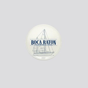 Boca Raton - Mini Button