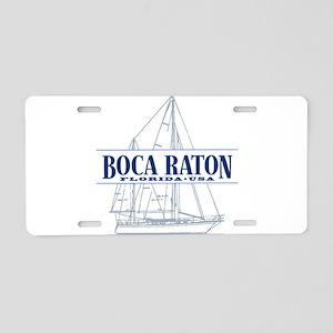 Boca Raton - Aluminum License Plate