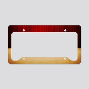 Theater stage curtains License Plate Holder
